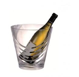 Champagne & Wijn Koeler Transparant Rond