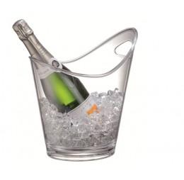 Champagne & Wijn Koeler Transparant Schuin