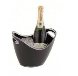 Zwarte Champagne & Wijn Koeler Gondel Medium