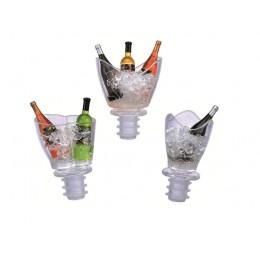 2 Flesstoppers Mini Champagnekoeler