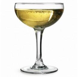 4 Champagne Coupe Glazen