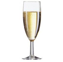 2 Champagne Flute Glazen