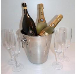 RVS Koeler Groot + Gratis fles Prosecco
