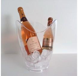 Koeler Curve met Rosé groot en mini