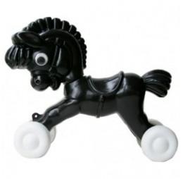 Trek-Paard Zorro Zwart