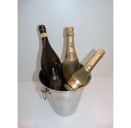 Champagnepakket met RVS Koeler, Prosecco en Cava